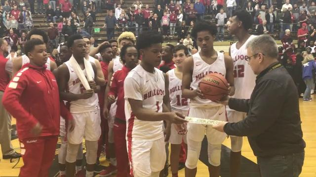 The Bosse Bulldogs are headed back to state after an intense, 64-61 victory over Danville in the Class 3A semistate at Washington.