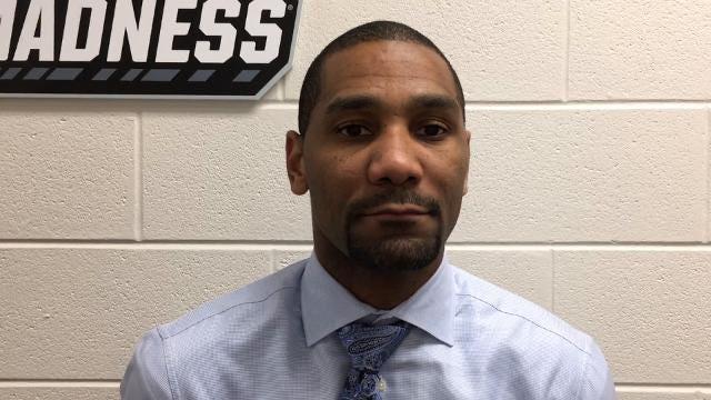 Butler coach LaVall Jordan discusses his team's season-ending loss to Purdue.