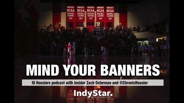 IndyStar IU Insider Zach Osterman and Chronic Hoosier welcome a special guest to discuss the first year of 'Arch Madness' as the Hoosiers first-year coach Archie Miller but a bow on Year 1.