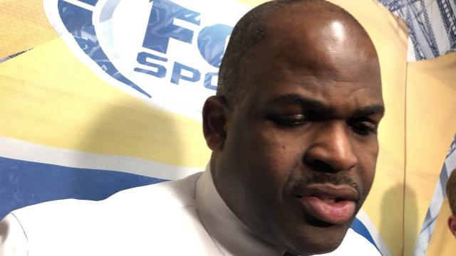 Pacers coach Nate McMillan addressed the media after the Pacers lost in New Orleans 96-92.