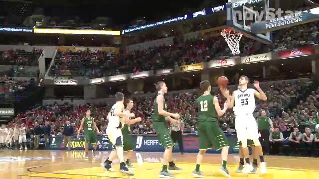 Oak Hill wins 2A state title over Forest Park 56-44 on Saturday at Bankers Life Fieldhouse.