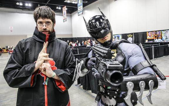 The 2018 Indiana Comic Con costume parade brings comics to life as cosplayers strut their stuff at the Indiana Convention Center on Sunday, April 1, 2018.