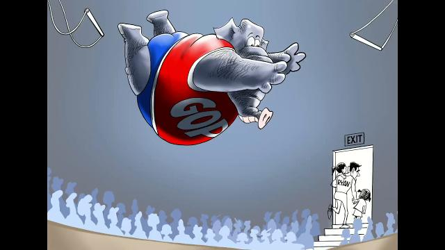 Varvel: Drawing Paul Ryan's retirement
