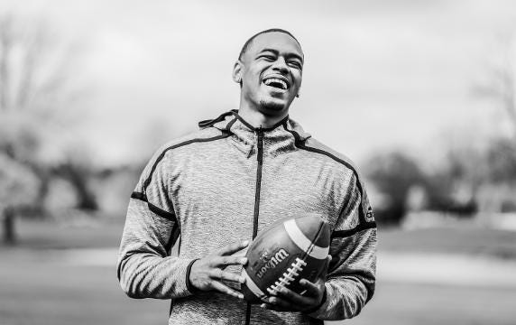 Life fumbled his plans but Deontez Alexander may find another route to the NFL