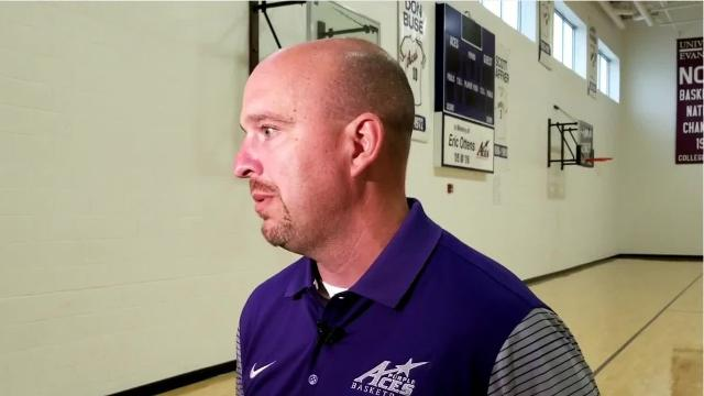 Recently-named Evansville basketball assistant coach Matthew Graves talks about being back in the Midwest, in a more comfortable role and his previous history with the program at Roberts Stadium.