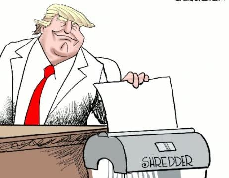 Varvel: Drawing Trump's shredder