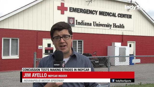 Insider Jim Ayello discusses the concussion test used on IndyCar drivers.
