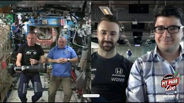 Join race insider Jim Ayello as he discuss the news of the day as well as talks to astronauts at the space station.