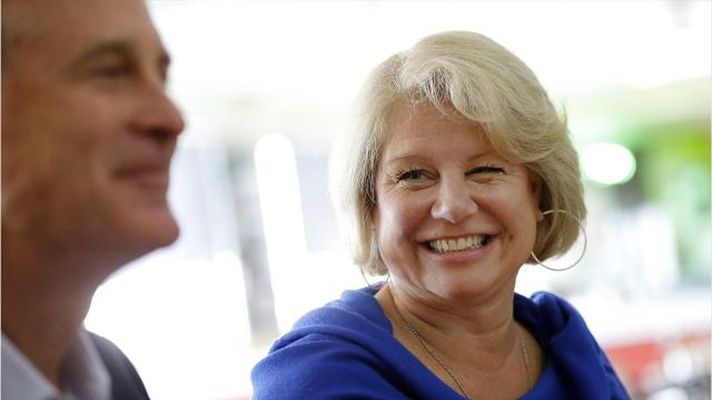 Susan Bayh, an attorney and wife of former U.S. Sen. Evan Bayh, was diagnosed with malignant glioblastoma, a rare and aggressive form of brain cancer. It's the same cancer that Sen. John McCain is battling.