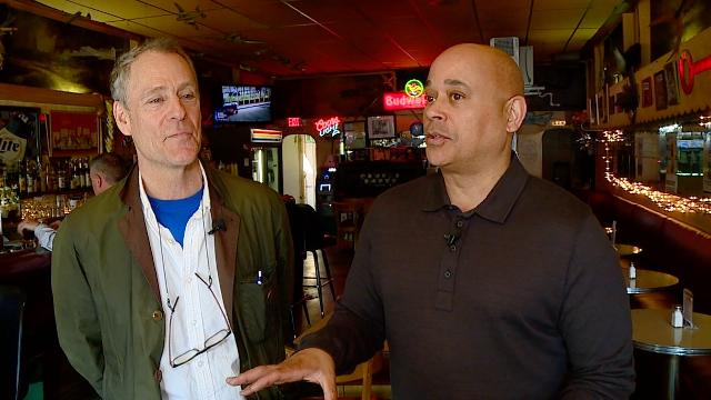 IndyStar's Will Higgins joins Fox59's Sherman Burdette at the Red Key Tavern (5170 N. College Ave.).