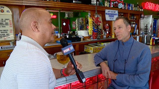 IndyStar's Will Higgins joins Fox59's Sherman Burdette at the Working Man's Friend (234 N. Belmont Ave.).