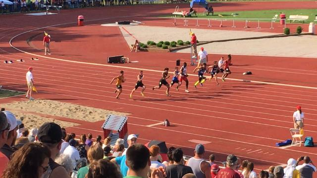 Avon's Isaac Guerendo wins 100m state title