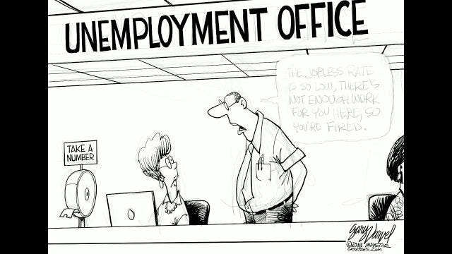 Watch Gary Varvel's time lapse video of his drawing of the jobless rate.