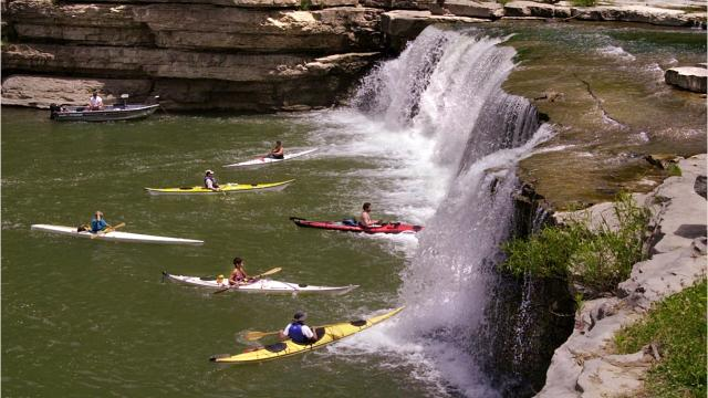 Sullivan Cave Indiana Map.18 Great Indiana Spots To Canoe And Kayak