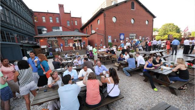 From the Rathskeller's biergarten to the dog-friendly patio at Flat 12 Bierwerks, there's a variety of outdoor beer gardens in Central Indiana where you can enjoy a frothy, cold one this summer.