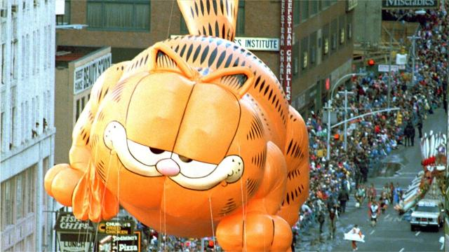 Who doesn't hate Mondays? Isn't lasagna delicious? Wouldn't you rather just relax? Happy 40th birthday, Garfield.