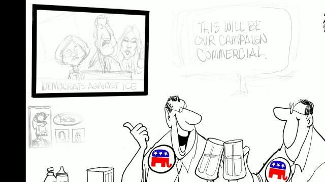 Watch Gary Varvel's time lapse video of his drawing process in this editorial cartoon.
