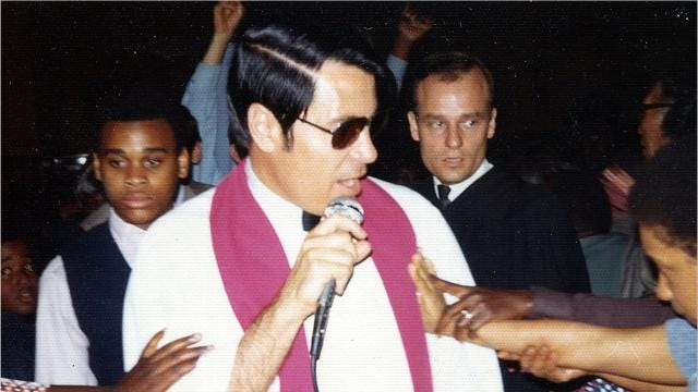 Jim Jones began his preaching career in Indiana, but became a cult leader who led his followers to their deaths in Guyana in 1978.