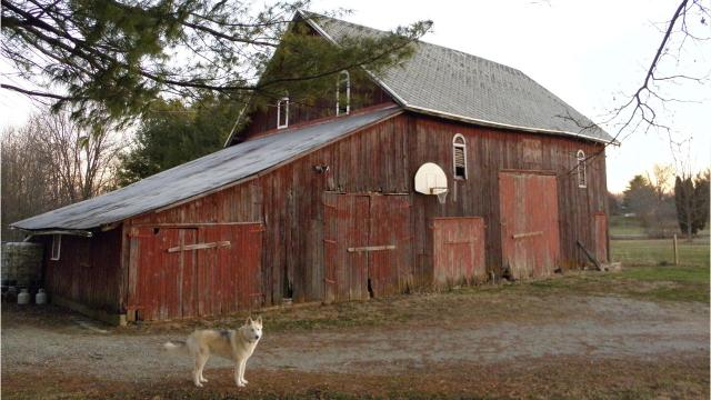 A special spot in rural Hancock County featured by IndyStar columnist Gregg Doyel captures a bit of historic Indiana and the state's love for basketball in one old, red barn.