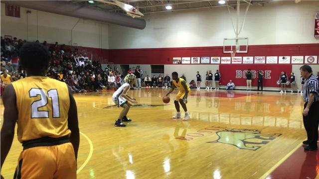 Xavier recruit KyKy Tandy scored a game-high 44 points for UHA in a victory over Reitz. Khristian Lander paced the Panthers with 24 points.