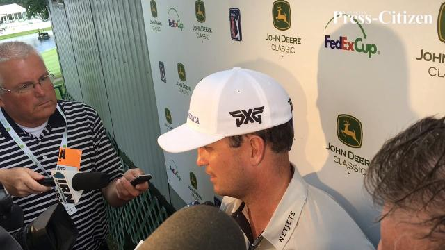 Zach Johnson is tied for third at 10-under after two rounds of the John Deere Classic.