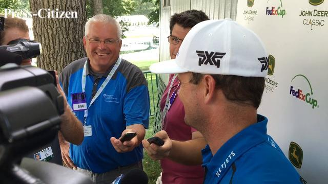 Zach Johnson discusses third round of John Deere Classic