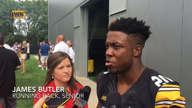 James Butler's personal goal? 'To win the Big Ten championship'