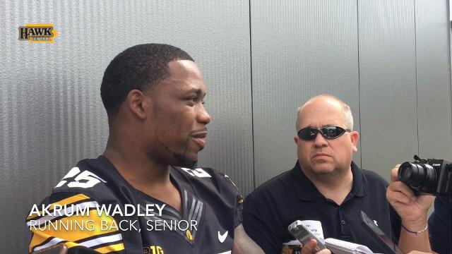 Akrum Wadley: If James Butler makes a good run, 'it's love'