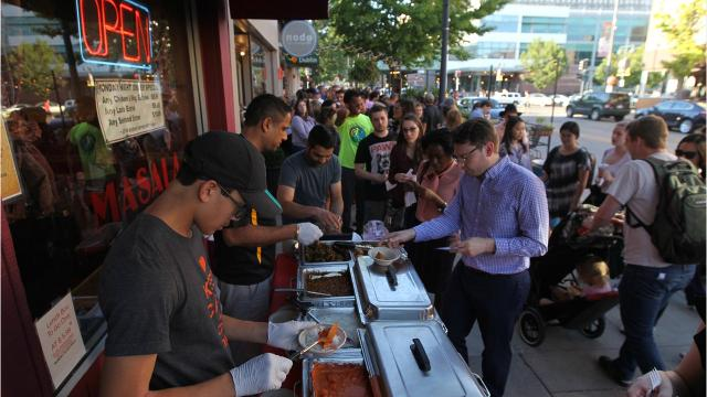 More than 40 restaurants took part in the 10th Taste of Iowa City