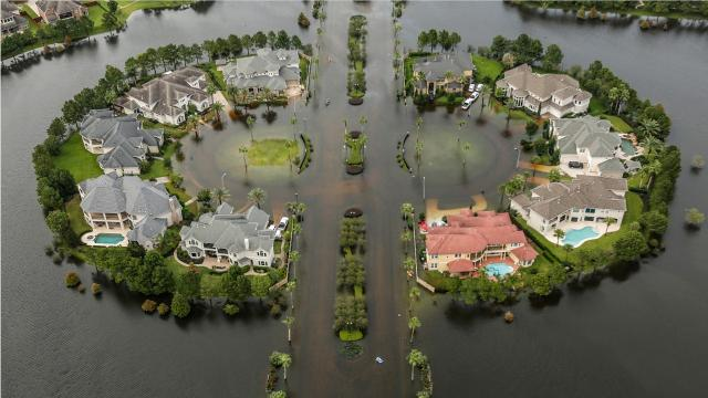 Hurricane Harvey, has dumped an estimated 27 trillion gallons of water on Texas and Louisiana, and is turning out to be one of the most damaging natural disasters in U.S. history. Flooding still has not subsided in large areas of Houston, Beaumont and other areas of Texas. Thousands of people still remain in shelters displaced from their homes. and most of those people don't have homes left to go home too. Harvey's cost is predicted that the storm will be the most expensive in U.S. history at over $190 billion
