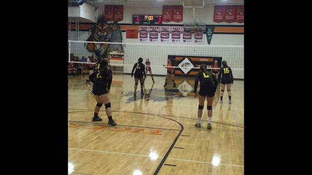Iowa Valley vs. Tri-County volleyball