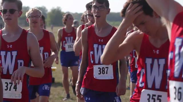 Dale Todd speaks about his son's growth through competing on Cedar Rapids Washington's cross country team.