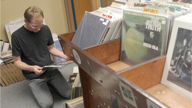Iowa City is remembering Kirk Walther, owner of Record Collector record store, after he passed away Sunday following a battle with cancer. Walther was 61.
