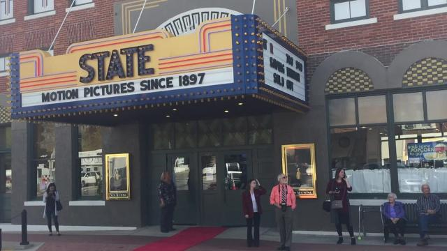 The Iowa City-made dcoumentary had its Iowa premiere in the oldest continuously-running theatre in the world: the Fridley State Theatre in Washington, Ia.