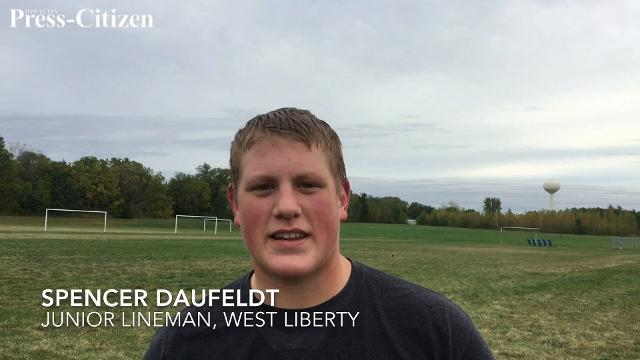 Spencer Daufeldt, a 6-foot-1, 265-pound junior defensive tackle, discusses his busy schedule and his plans for Iowa and Iowa State summer camps.