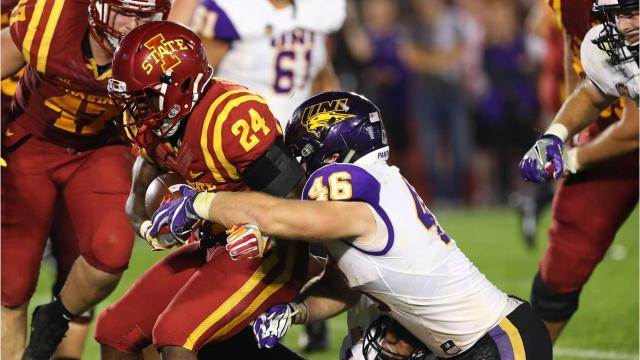 UNI LB Jared Farley is living out his Panther dream. The youngest son of head coach Mark Farley, Jared has been a dieheard Panther fan since elementary school. Now, he headlines the UNI defense.