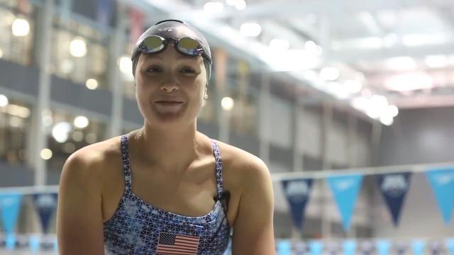Competitive family fuels rising Iowa swimmer