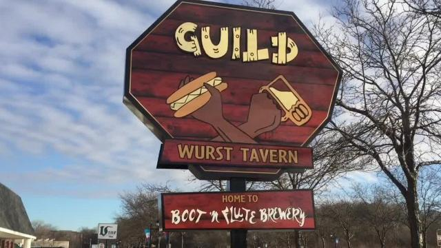 Boot N' Flute Brewery has started to brew insidethe new Coralville restaurant Guild Wurst Tavern.
