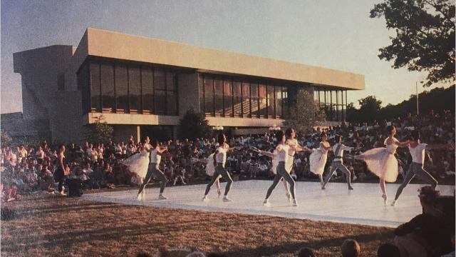 The University of Iowa's Hancher Auditorium has been bringing art to UI and Iowa City since 1972.