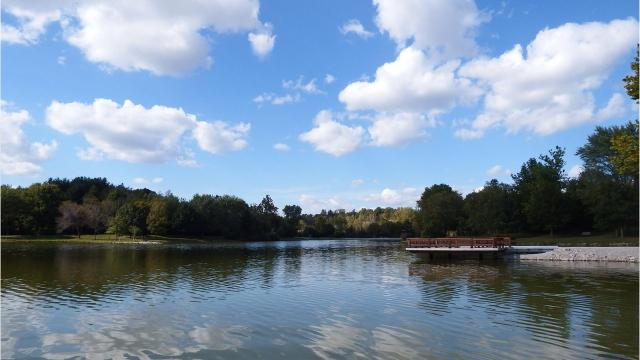 A slew of water quality issues led to the 27-acre lake being drained last year.