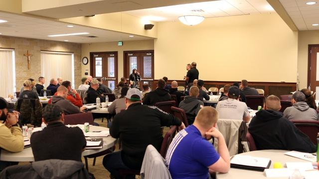 Police take CIT training in Johnson County.