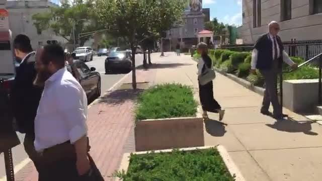 RAW VIDEO: Sorotzkins leaving federal court in Trenton