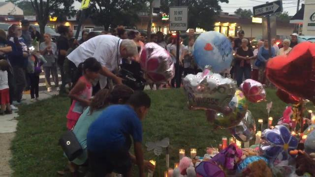 RAW VIDEO: Vigil for AbbieGail 'Abbie' Smith