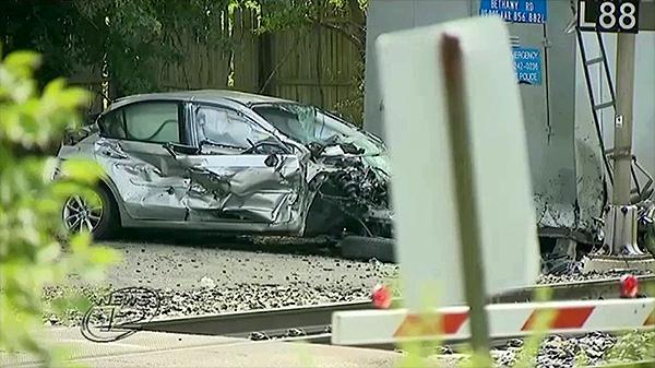 Man killed when car struck by NJ Transit train
