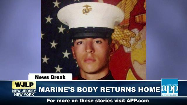 NewsBreak: Marine's body returned home to NJ