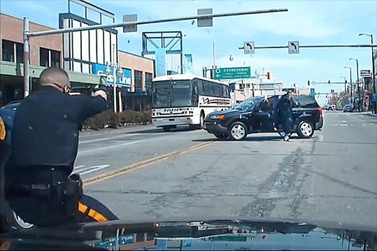 GRAPHIC WARNING: NJ police shoot man 45 times