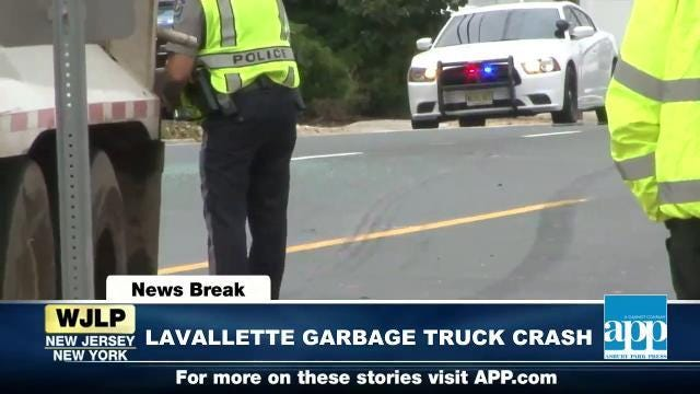 NewsBreak: Lavallette garbage truck crash; Health care debate