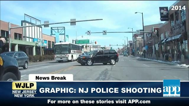 NewsBreak: NJ police shooting video released