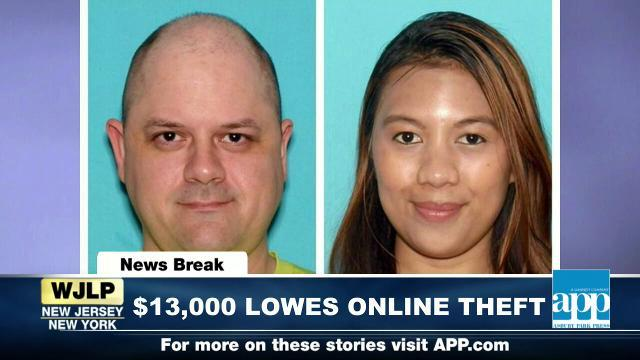 NewsBreak: Ocean County couple charged with Lowes theft
