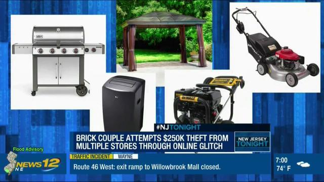 Brick couple exploit Lowe's website 'weakness' for free items